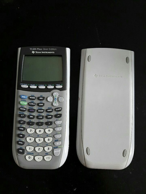 Used TI 84 Plus Silver Edition Graphic Calculator For Sale In Montral