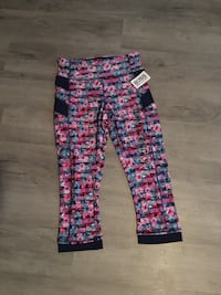 Women's pink and blue gym pants with pockets Miami Beach, 33139