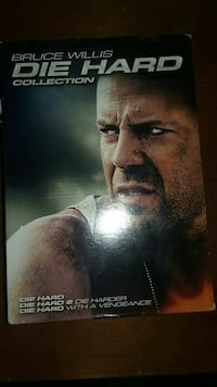 Bruce Willis Die Hard DVD box collection Falling Waters, 25419