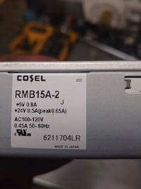Cosel power supply Vaughan, L4H 2Y1