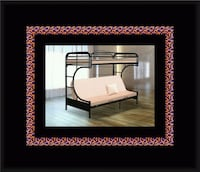 Twin futon bunkbed frame Greater Landover, 20784
