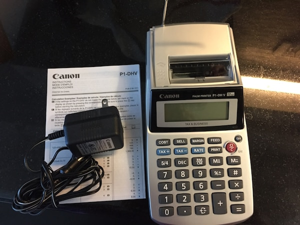 Used Canon Accounting Calculator For In San Jose
