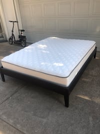 Queen Bed Frame and Mattress Albany, 97322