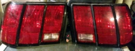 Mustang tail light assembly
