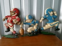 1970's metal football wall hangings Maple Grove, 55311