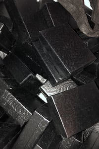 Black jewelry boxes x 100 North Vancouver, V7J 2H4