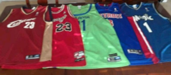 8eeaaea63f2 Used Assorted NBA Jerseys for sale in Lithonia - letgo