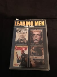 Leading Men 4 dvd Feature Columbia, 29205