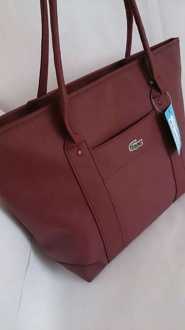 bddb77a7cf4cf Used Bayan Lacoste çanta bordo for sale in Aydın - letgo