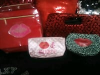 Lips makeup bags lot  Stockton, 95206