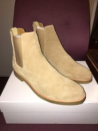 Crepe Chelsea Boots