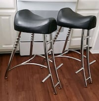 2 Biker Style Bar Stools Sterling Heights, 48312