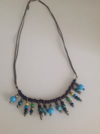 blue and silver beaded necklace New Port Richey, 34655