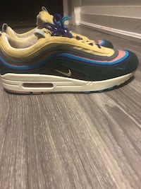 Selling vnds nike airmax sean wotherspoon size 10.5 include box, laces, and verified card by goat (bought from goat) Toronto, M8V 3K3