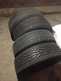 4 winter tires. 185/70R14 Markham, L3S