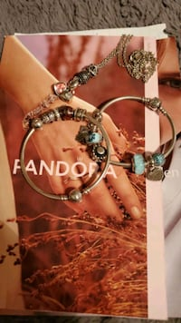 Pandora bracelets , charms, and chain  North Bergen, 07047