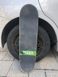 barley used skateboard