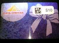 Gift Card for Maya Cinemas(Calif. Ave in Bkrsfld) Bakersfield, 93308