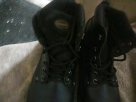 Awesome timberland steel toe boots and  Nike shoes and vans like new