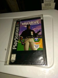 Frank thomas big hurt baseball long box ps1