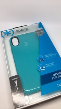 Speck iPhone X teal