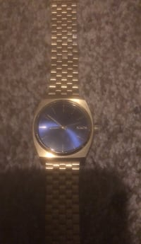 Nixon- The Time Teller 37mm Gold and Cobalt Blue Bakersfield, 93312