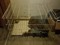 gray metal pet cage Pittsburgh, 15201