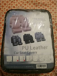 Leather car seat cover - unopened