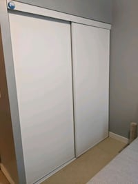 Closet Sliding Doors(with brand new tracks) Toronto, M2M 1T5