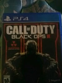 Call of Duty Black Ops 3 PS4 game case Yettem, 93670