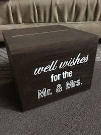 Wedding Wish/Advice/Money Box Kensington, 20895