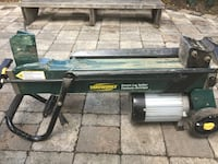 Yardworks 5-ton, 1 3/4 HP electric log splitter   Edmonton, T5M 0P5