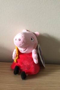 Peppa pig doll (10cm tall) Richmond, V6Y 4H3