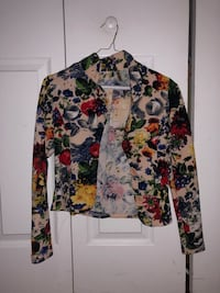 white, red, and black floral long sleeve shirt Miami, 33150