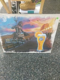 Blue moon oil painting Hampton, 23666