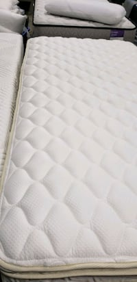 Twin mattress euro top