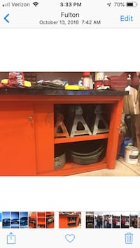 Workbench with cabinets Fulton, 20759