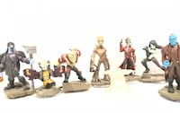 Full set of Guardians of the galaxy Disney Infinity figures  Silver Spring