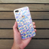 iPhone 7 Plus Case - Holographic Sequins Burnaby, V3N
