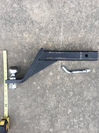 """Trailer Hitch 6"""" Drop w/ Ball Fort Smith, 72916"""