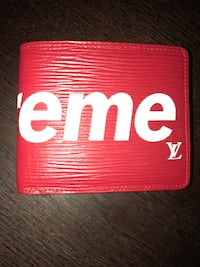 Supreme Louie Vuitton leather wallet Moss Beach, 94038