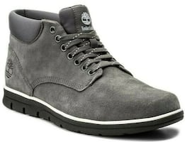 Timberland Men's Bradstreet Mid casual Grey Suede Leather Shoes