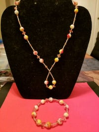 white and yellow beaded necklace Anaheim, 92801