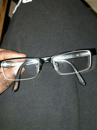 black framed eyeglasses with case Toronto, M6M 5B7