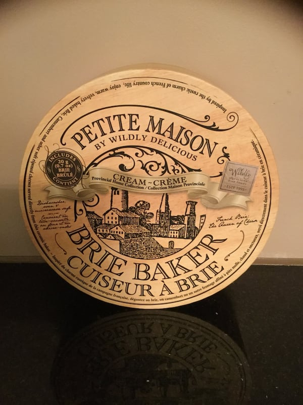 Petite Maison Cream Brie Baker By Wildly Delicious French New c903de14-3689-4cf9-830b-770beab3e207