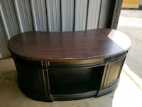 Executive wood desk Oxford, 36203