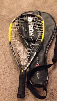 red and black racquetball racket with case Annapolis, 21409