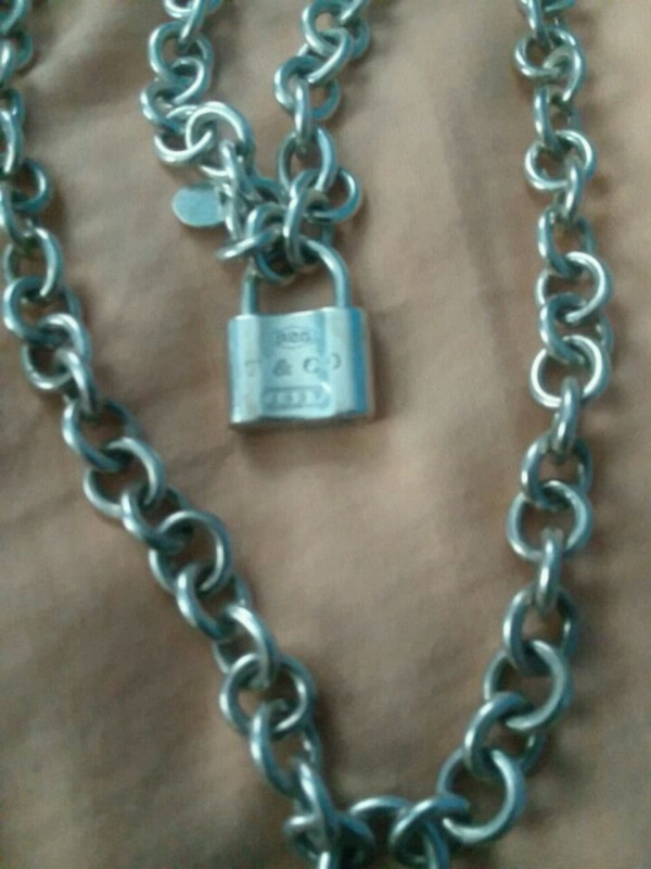 Tiffany's necklace and bracelet Not Sold