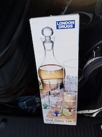 London Drugs shot glass set box Vancouver