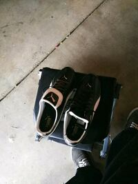 pair of black-and-white PUMA shoes with box Desert Hot Springs, 92240